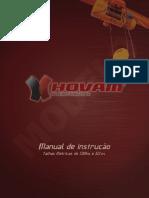 manual de instruccion polipasto, mantenimiento