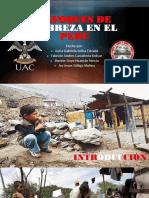 Enfoques de Pobreza en El Perú