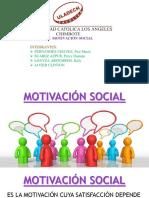 Diapositivas Motivacion Social