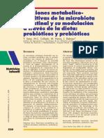 Funciones Metabolicas de La Microbiota