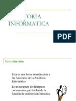 Seguridad Informatica - Auditoria