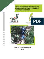 Informe Caracterización Vertimientos 2017