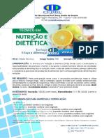 Técnico Nutrição e Dietético