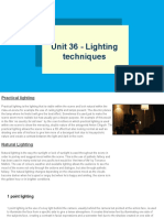 unit 36 - lighting techniques
