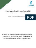 PONTO DE EQUILÍBRIO CONTÁBIL.pptx