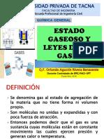 Clase 9. Estado Gaseoso-Leyes de Los Gases