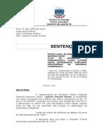 Art 14 Da Lei 10826-2003 -Condenação