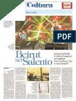 Repubblica Beirut Nel Salento