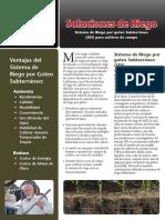 ALT215 SDI for Field Crops Sp