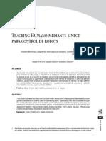 Tracking Humano Mediante Kinect