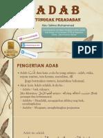 ADAB TONGGAK PERADABAN.pdf