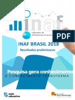 Inaf2018 Relatório Resultados Preliminares v08Ago2018