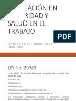Ley Principios, Finalidad, Objetivos LSST