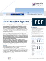 CheckPoint 6600 Appliance