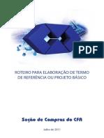 roteiro para termo de referencia e projeto basico_CFA.pdf