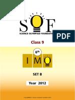 6th IMO 2012 Set B
