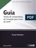 Termo de Compromisso de Cessação para casos de cartel