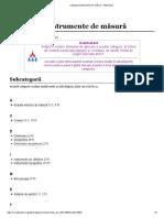 Categorie_Instrumente de Măsură