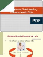 Requerimiento Nutricional en El Niño (1)
