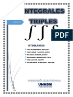 Integrales Triples Calculo II Fnal