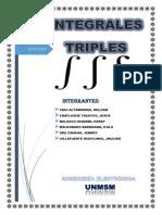 Integrales Triples Calculo II Fnal
