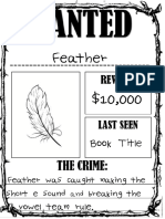 wanted poster example and instructions