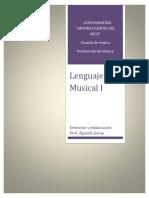 Cuadernillo de Lenguaje I 2018 liceo municipal