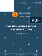 Campus Ambassador Rule Book