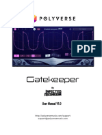Gatekeeper Manual