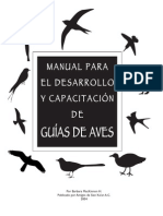 Bird Guide Manual Es