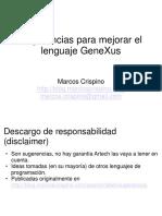 33464106-Sugerencias-para-el-lenguaje-GeneXus-by-Marcos-Crispino-en-GUG-Montevideo.ppt