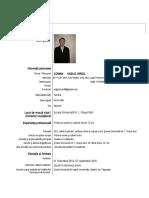 Curriculum Vitae-european Coman Vasile-Virgil