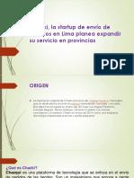 Chazki, la startup de envío de pedidos.pptx