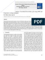 Performance Parametric Analysis of Retrofitted Gas Turbine Cycle Using STIG and Evaporative Cooling Techniques
