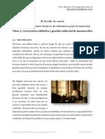 Corrección Estilística y Gestión Editorial