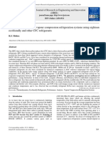 Performance Analysis of Vapour Compression Refrigeration Systems Using Eighteen Ecofriendly and Other CFC Refrigerants
