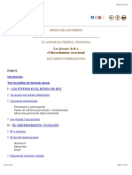 Documento preparatorio Sínodo 2018