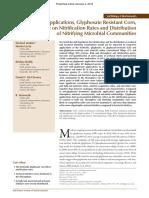 Glyphosate Applications (M. Jenkins Et Al.)