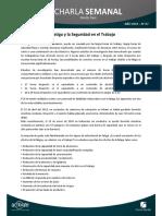 07 - La Fatiga y La Seguridad en El Trabajo