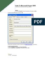 SAGA Quick Guide to Microsoft Project 2003
