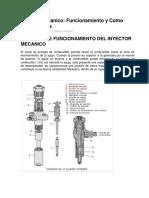 Inyector Mecanico