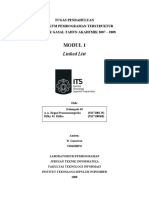 Soal Wajib Modul 1 Struktur Data
