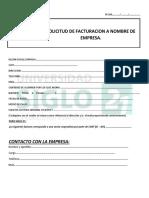 Formulario de Solicitud de Facturacion a Empresas (00000003)