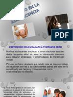 Embarazo en La Adolescencia Cristobal Hidalgo
