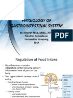 Physiology of Gastrointestinal System