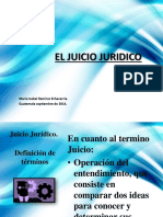 Presentacion Juicio Jurídico