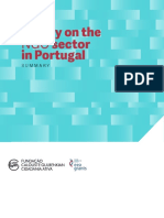 Survey on the NGO Sector in Portugal Summary