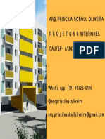 Cartão Arq Priscila Soboll