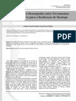 Comparação Do Desempenho Entre Ferramentas de Código Livre Para a Realização de Backups