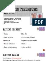 Case Report - Deep Vein Thrombosis